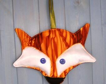 Fox wall hanging