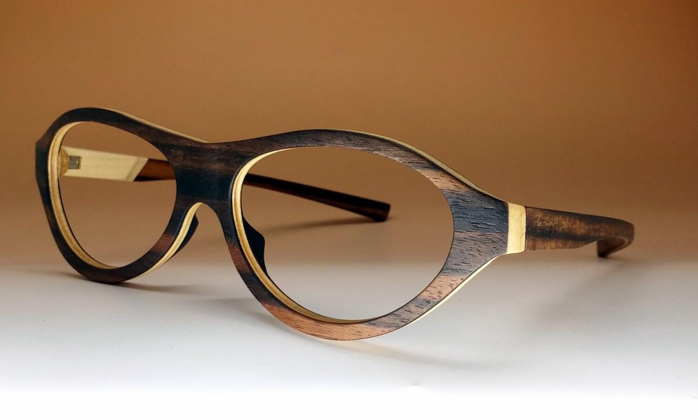 Eyeglass Frames Wood : Wooden eyeglasses