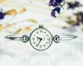 Vintage watch. Soviet watch, Women's watch, Women's soviet watch, Vintage watch, Russian watch, Chaika 17 jewels, women's wrist watch