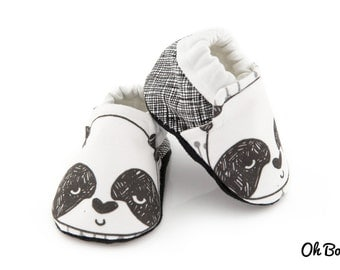 Baby Soft Sole Shoe - Panda