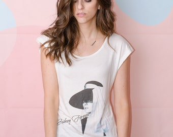Hatted Holly Golightly - the Tee