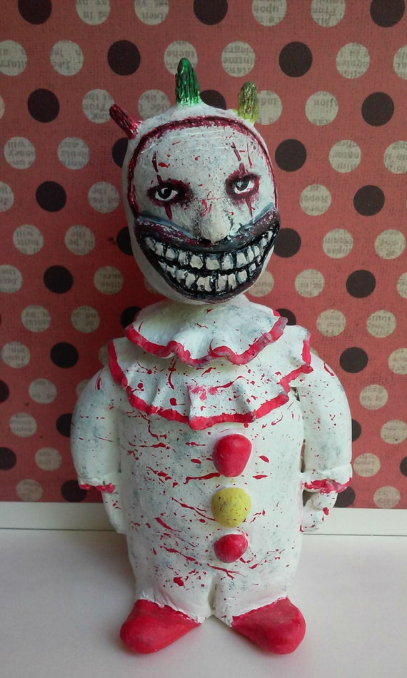 Items similar to Twisty The Clown Bobble Head on Etsy