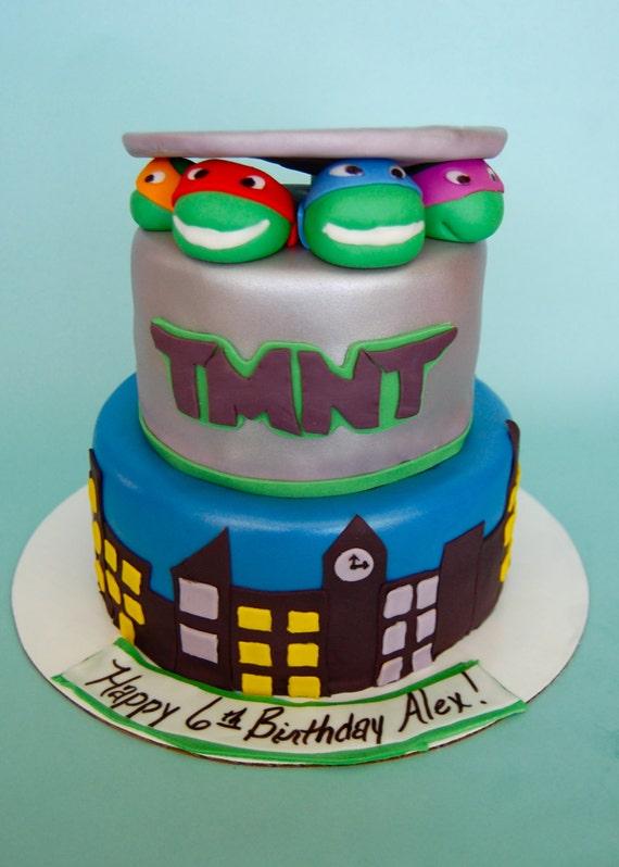 Teenage Mutant Ninja Turtle Cake Kit by ChristyMaries83 on Etsy, $14 ...