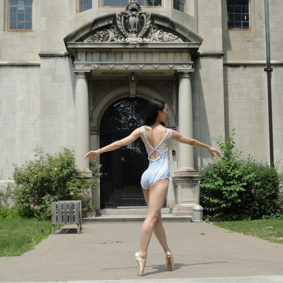 Pirouette Style - ballet leotard by Yukitard