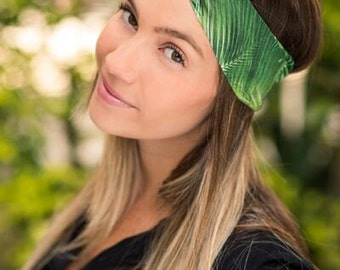 Palm tree Print Turban Headband