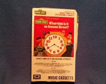 1977 Sesame Street Cassette Tape