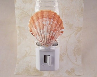 night lights plug in beach seashell night light home decor lighting night light