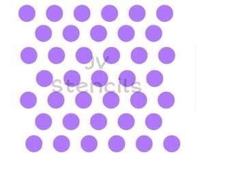 Medium Polka Dots Stencil