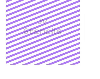 Diagonal Lines Stencil