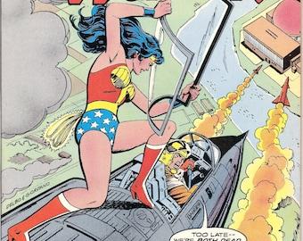Wonder Woman #258 DC Comics Nuclear Bronze Age Amazon Diana Prince Paradise Island 1979 VF+ (8.5)