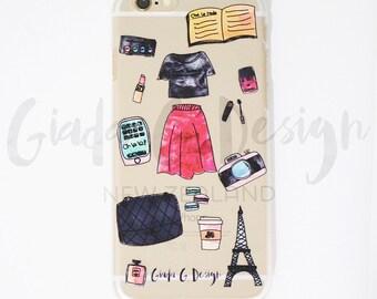 SALE!!! 30% OFF iPhone 6/6 Plus Cases!   Presque Parisienne (Almost Parisian)   Giada G. Design