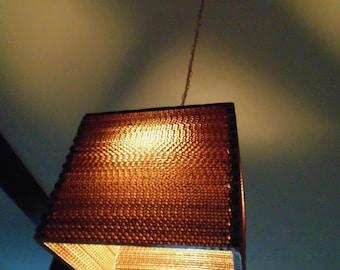Cardboard Pendant Lamp LT Cuadrada