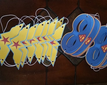 "ON SALE"" WonderWoman Birthday Party Kit"