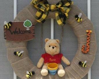 Winnie the Pooh wreath