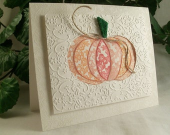 Handmade Fall card