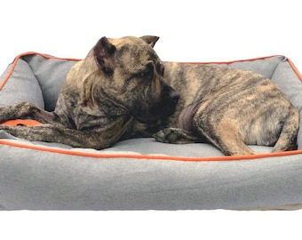"Large Dog Bed ""BONE"""