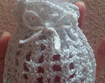 Hand Crocheted Soap Holder | Soap Saver | Sachet Bag | Crochet Soap Holder | Crochet Sachet Bag | Handmade Crochet