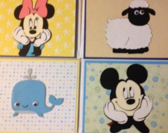 Children's Birthday Card Set