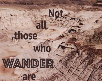 Travel Quotes poster photography Tolkien by TravelinShutterbug