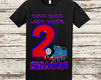 Thomas the Train Birthday Shirt - Thomas Birthday Shirt