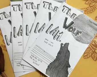 Mini Zine - The Wolf I Am