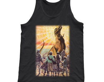 How It Ended Tank Top - Funny Dinosaur Shirt - Mens and Ladies Sizes Small-3X