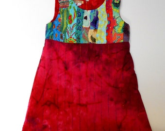 Size 6 Dress or Jumper with Ruching