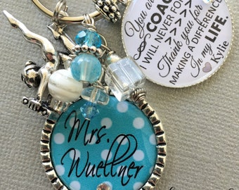 PERSONALIZED COACH Gift, gymnastics coach, cheer coach, softball coach, soccer coach, coach quote Thank you gift ice skating coach team gift