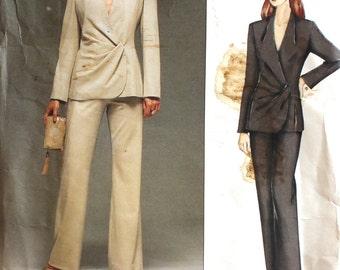 UNCUT Guy Laroche Ladies Suit Bust 34 - 38 Vogue 2498