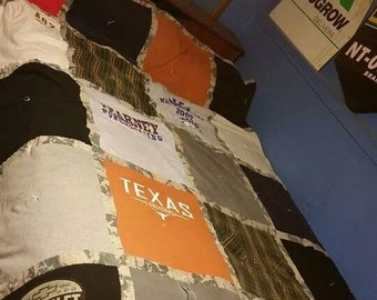 T Shirt Quilts made to order