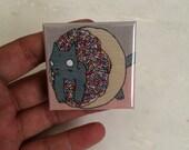 Donut Cat Magnet