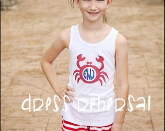 Red and white stripe knit ruffle short (12m to 8 years) Shorties - half inch stripes