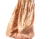 Pantaloons, YOUR SIZE, LAST One, Pants, Bloomers, Sepia and Gold Sequins, Dance, Tribal, Bellydance, Dark Fusion