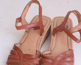 Vintage girls sandals size 3 dyna kids