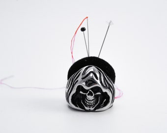 Skull Death Ring Pincushion