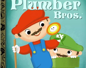 The Little Plumber Bros. - 8x10 PRINT
