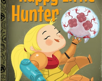The Happy Little Hunter - 8x10 PRINT