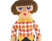 Emma the Hipster Chick Plush