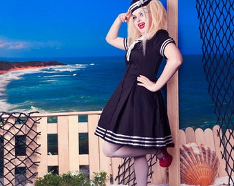 The 'Here There Be Monsters' Sailor Dress