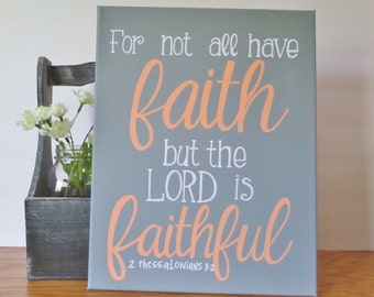Bible verse canvas art quote, Quote on canvas, wall art quote, 11X14 canvas, Gray canvas, handmade sign, canvas art, wall art, bible verse