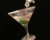 Martini Cocktail Charm