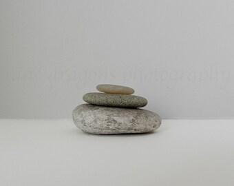 Stacked Stones Wall Art, Still Life Photography, Grey Beach Art Minimalist Yoga Art, Meditation Print, Stone Photography,Zen Decor Large Art