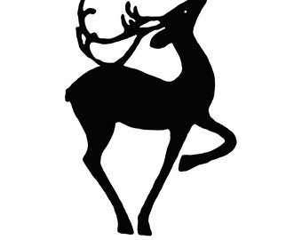 CLING RUBBER STAMP Reindeer or Cardinal or Snowflake Stamps~Christmas Holiday and Winter Cling Stamps ~No wood mount (50-12/19/11))