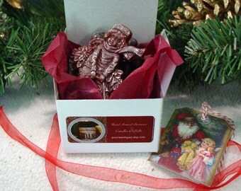 Scented Beeswax Christmas Melts, Gift Box, Scented Wax Melts, Scented Wax Tarts, Scented Candle Melts Scented Christmas Tarts Scented Melts