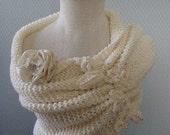 Bolero, shurg, shawl , Bridal bolero   Wedding Shrug  Ivory shrug ,Very Versatile  Design Of Mine  SM-MD IVORY color