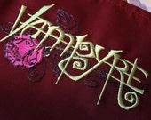 Vampyre Apron (Crimson Red)