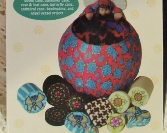 Reduced price-vhs polymer clay series-Advanced Millefiori Techniques 1 by Marie Segal-