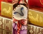 Siamese Cat Bookmark Melanie Hamilton Gone With the Wind Inspired Cat Bookmark