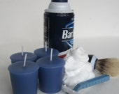 BARBER SHOPPE (4 votives or 4-oz soy jar candle)