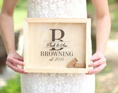 Personalized Wine Cork Keeper or Beer Cap Keeper Custom Wedding Gift Rustic Barn Wedding Bridal Shower Present (Item Number NVMHDA1224)